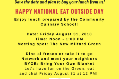 National Eat Outside Day: Friday, August 31st