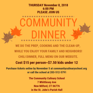 Community Dinner | New Milford, CT